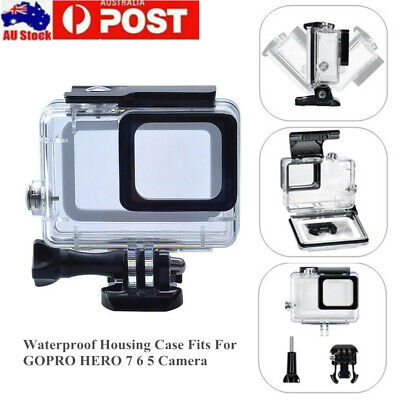 AU15.99 • Buy Waterproof Diving Protective Housing Clear Accessories Case For GoPro Hero 7 5 6
