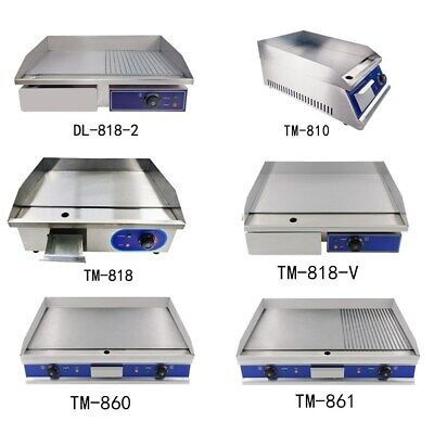 Commercial Electric Griddle Kitchen Hotplate Countertop Plancha BBQ Grill Bacon • 98.50£