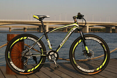 AU359 • Buy Brand New Cyber 2020 EURO Black&Yellow Color 27.5 Inch 21SP ShimanoMountain Bike
