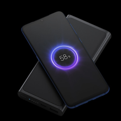AU58.50 • Buy Xiaomi Wireless Power Bank 10000mAh With USB Type C Lightning Fast Charger AU