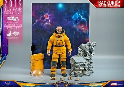 $389.99 • Buy Hot Toys Marvel Stan Lee Guardians Of The Galaxy 1/6 Sixth Scale TOY FAIR SDCC