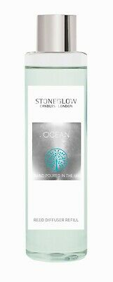 AU29.92 • Buy Stoneglow Premium Scented Reed Diffuser Refill Oil 200ml Fragrance - OCEAN