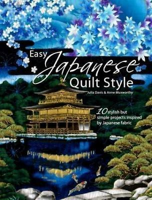 $ CDN18.93 • Buy Easy Japanese Quilt Style By Julia Davis And Anne Muxworthy / NEW & FREE SHIP