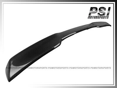 ZR1 Style Carbon Fiber Trunk Spoiler Lip For 2005-2013 Chevrolet Corvette C6 • 289$