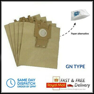 5 X GN Type Paper Dust Bags For Miele Vacuum Cleaner  • 3.79£