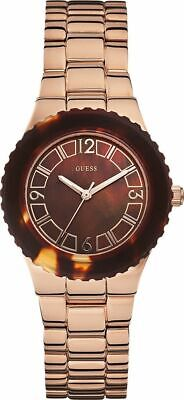 $ CDN85.64 • Buy Guess Women's Rose Gold Brown Dial Stainless Steel Watch