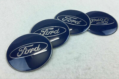 $7.88 • Buy 4Pcs 65mm Car Wheel Center Hub Caps Covers Emblems Stickers For Ford Logo