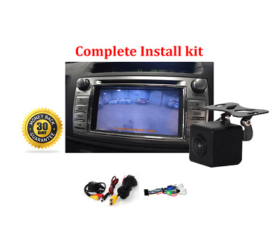 AU178 • Buy Reverse Camera NTSC Kit For Toyota Hilux Factory Screen 2014 Workmate SR & SR5