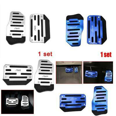 £6.15 • Buy 3x Racing Sports Non-Slip Automatic Car Accessories Gas Brake Pedals Pad Cover