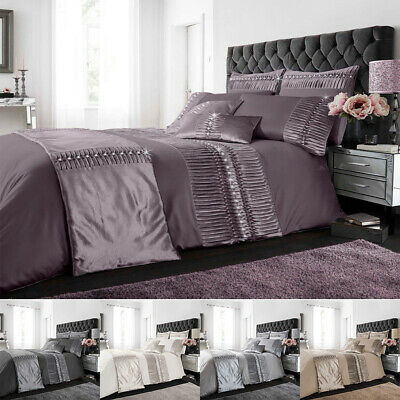 Curtains Cushion Covers //Door Panels Luxurious Oxy Diamante Duvet Cover Sets