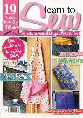Learn To Sew Today! - Easy Makes To Create Whilst You Learn To Sew! Sewing Book • 3.50£