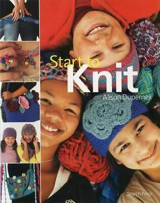Start To Knit - Knitting / Sewing Craft Book • 3.50£