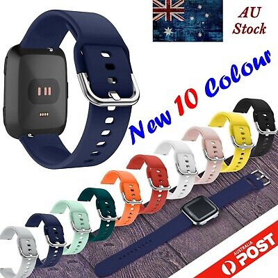 AU9.95 • Buy For Fitbit VERSA Replacement Band Silicone Wrist Sports Strap Band Wristband