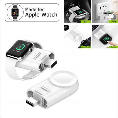 $ CDN18.86 • Buy Portable Apple Watch Wireless Charger USB Charging For IWatch Series 5 4 3 2 1