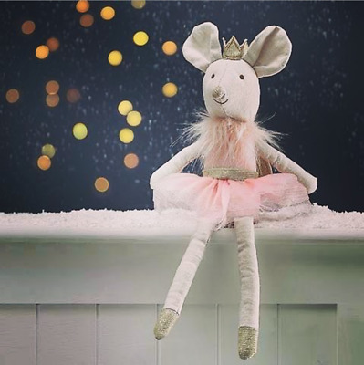 Sugar Plum Fairy Mouse Soft Toy By Walton. 28cm. Suitable For New Born. • 15£