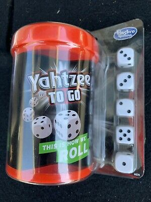 AU14.16 • Buy Hasbro Yahtzee To Go Travel Game THIS IS HOW WE ROLL New In Box A1