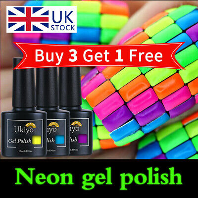 Belen Neon Summer Bright Colour Gel Nail Polish UV LED Varnish Lacquer  • 2.59£