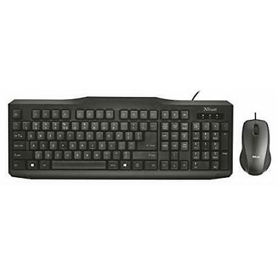 Trust Classicline Wired Keyboard And Mouse Bundle • 15.87£