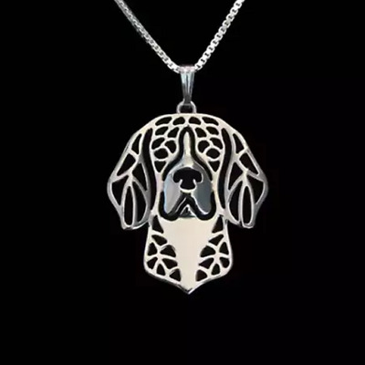 Beagle Dog Pendant Necklace With 18  Silver Chain Lovely Gift For Dog Lovers • 8.95£