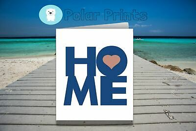 Personalised New Home Card. Unique & High Quality Card.  • 3.50£