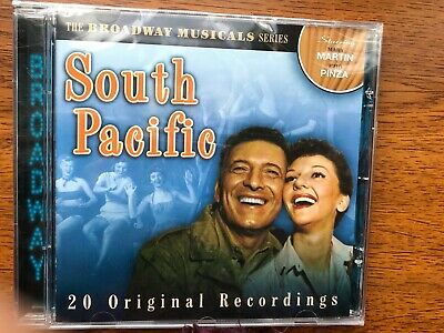 The Broadway Musicals Series: South Pacific CD New & Sealed • 2.49£
