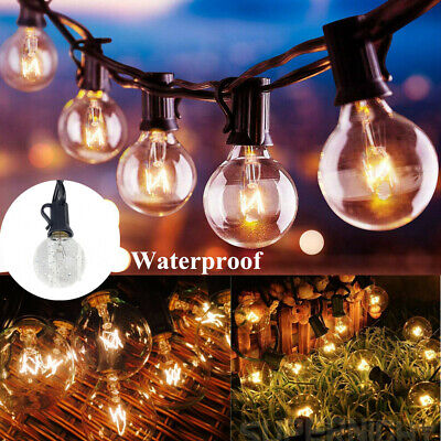 Fairy String Lights 25-100 Bulbs Waterproof In/Outdoor Garden Party Wedding Xmas • 12.49£