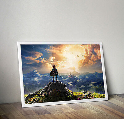 $17.99 • Buy The Legend Of Zelda Breath Of The Wild Poster 18 X 24 Inches FAST USA SHIPPING
