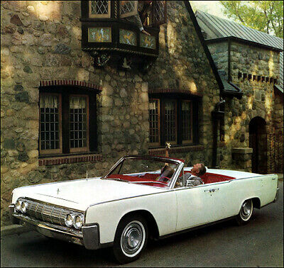 $4.99 • Buy 1964 Lincoln Continental Convertible, Refrigerator Magnet, 40 MIL