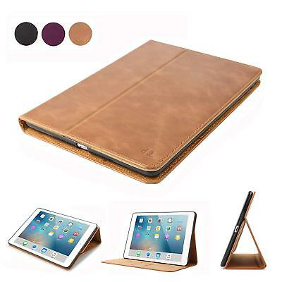 $15.99 • Buy Retro Genuine Leather Ipad 9.7 Case Smart Wallet Cover For 2017 5th/6th Gen 2018