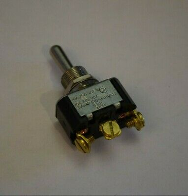 SWITCH TOGGLE SPDT CARLING Momentary 3 Position (On)-Off-(On), 3/4HP 120-240V • 7.95$