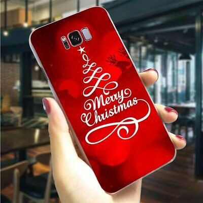 $ CDN3.93 • Buy Merry Christmas Phone Case Cover For Samsung Note 8 9 S8 S9 S10 Plus S6 S7 Edge