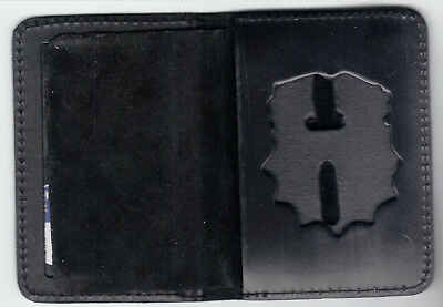 £15.21 • Buy NY/NJ Police-Style-Chaplain Badge Cut0Out/ID Book Wallet (badge/ID NOT Included)