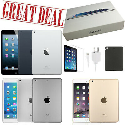 $ CDN228.84 • Buy Apple IPad Mini 1/2/3/4 Generation - 16GB, 32GB, 64GB, 128GB, Wi-Fi Only And +4G