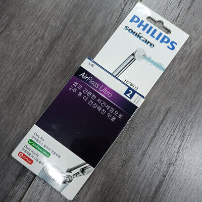 AU29.80 • Buy 2Pk Philips HX8032/05 Sonicare AirFloss Ultra Nozzle 2 Pack Grey