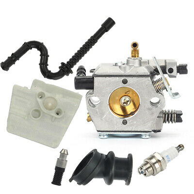$12.75 • Buy For Stihl 024 026 MS240 MS260 Chainsaw Carburetor Air Filter Carb Fuel Line Kit