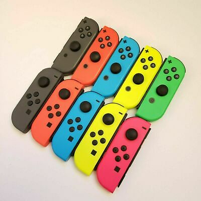 Nintendo Switch Joy Con Single Neon Red Blue Yellow Pink Green Gray Low Prices!  • 32.50$