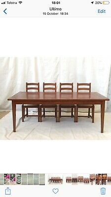 AU1395 • Buy TABLE DINING FRENCH COUNTRY 8 Seater, 2.15m Long. Gorgeous Quality Parquetry Top