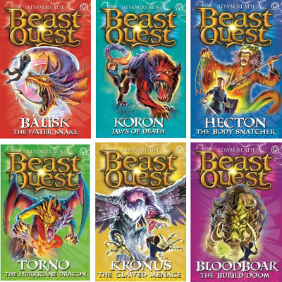 Beast Quest Pack: Series 8, 6 Books, RRP £29.94 • 12.99£