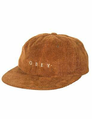 Obey Clothing Approach 6 Panel Hat - Tapenade • 36.50£
