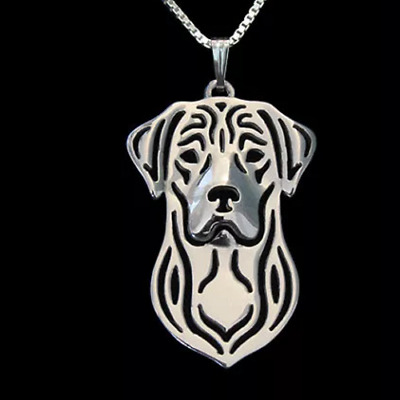 £8.95 • Buy Labrador Dog Pendant With 18  Silver Necklace Free Gift Bag