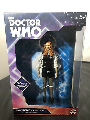 Dr Doctor Who Amy Pond 5.5  Figure In Police Uniform New Sealed • 15£