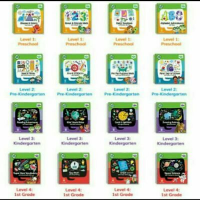 Leapfrog LeapStart Books - Complete Library Level 1 To 4 (age 2-7 Years) • 7.99£