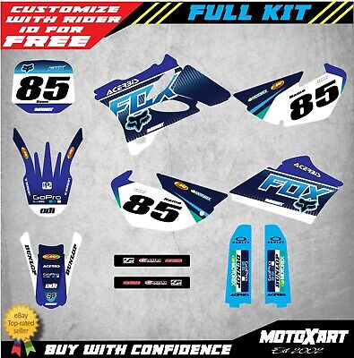AU149.40 • Buy Custom Graphics, Full Kit For YAMAHA YZ 85 2002 - 2014 FOXY STYLE Stickers