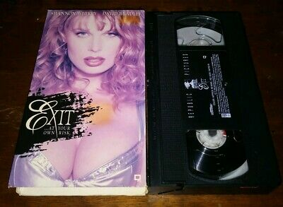 $ CDN26.45 • Buy Shannon Whirry David Bradley EXIT At Your Own Risk Erotic VHS Rare Republic
