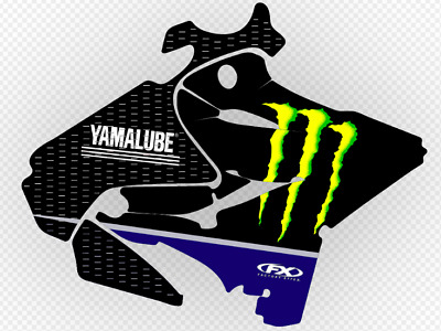 AU285.99 • Buy YAMAHA YZ125 YZ250 2019 Team Monster Energy Replica Graphics Fits 2015 - 2019