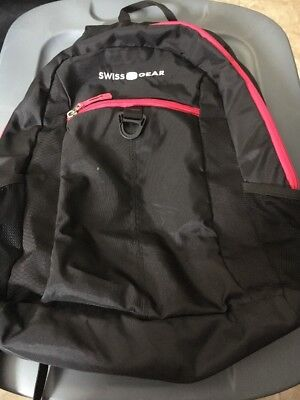 Swiss Gear Black And Pink Back Pack Comfort Fit, Sa6716 • 15.01£