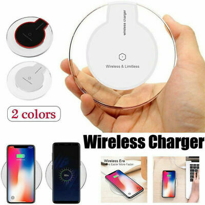 $ CDN5.21 • Buy Qi Wireless Charging Pad Charger For Android Samsung S8 S9 S10 RC