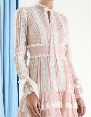 Nwt Zimmermann Verity Pintuck Short Dress $1050 0 1 2 • 339.96$