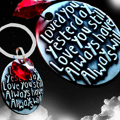 Christmas Presents Gifts For Him Her Romantic Key Ring Novelty Keepsake Love • 4.99£