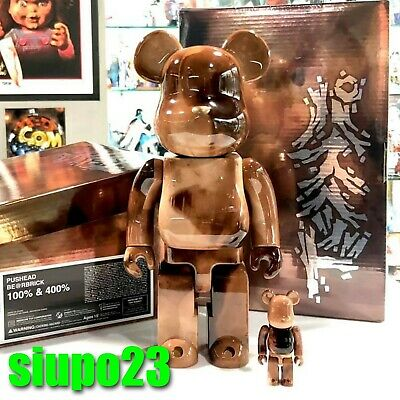 $299.99 • Buy Medicom 400% + 100% Bearbrick ~ Pushead #04 Be@rbrick